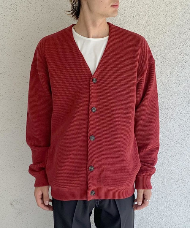 crepuscule moss stich V/N cardigan Red