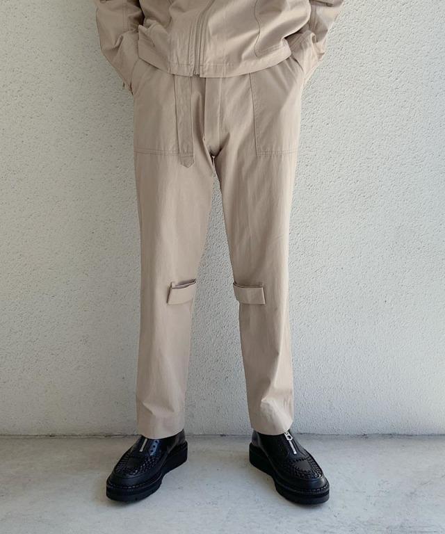 PHINGERIN BONTAGE PANTS A:サンドベージュ