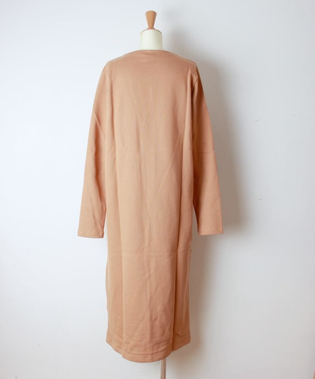 BASERANGE ALDA DRESS FURANO BROWN