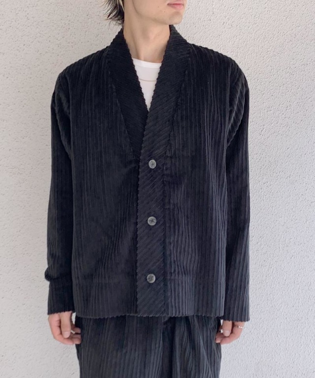 POLYPLOID CARDIGAN C BLACK