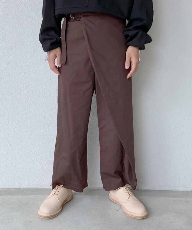 tence salon wrap pant chestnut