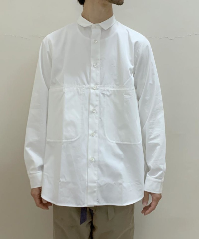 QUILP Pocket Shirts moss white