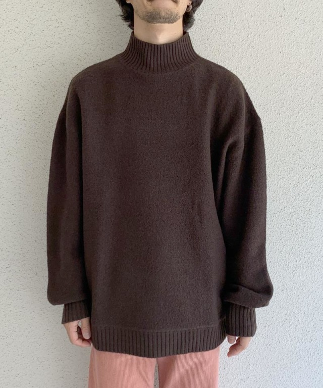 HOPE BOLD SWEATER Brown