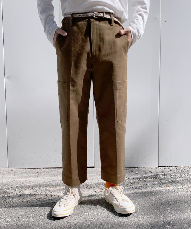 3.1 Phillip Lim CARPENTER PANTS brown