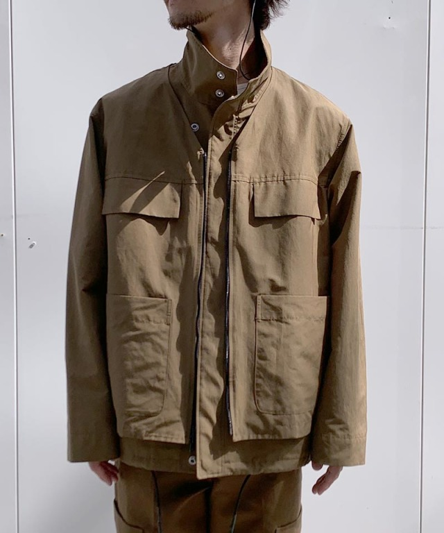 3.1 Phillip Lim DOUBLE LAYER JACKET brown
