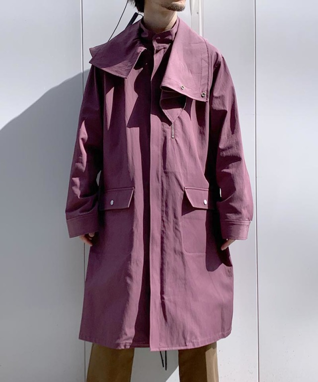 3.1 Phillip Lim PARKA W DETACHABLE wine