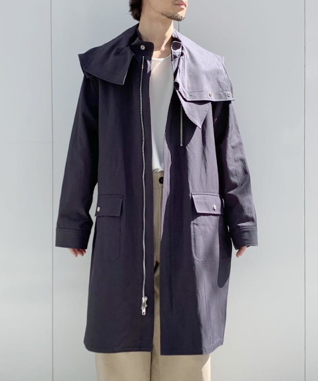 3.1 Phillip Lim PARKA W DETACHABLE navy