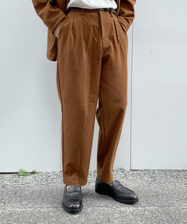 CURLY BLEEKER WD TROUSERS BROWN