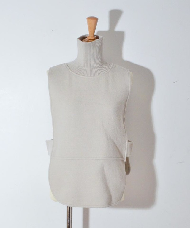 TAN BOILED T/N VEST gray