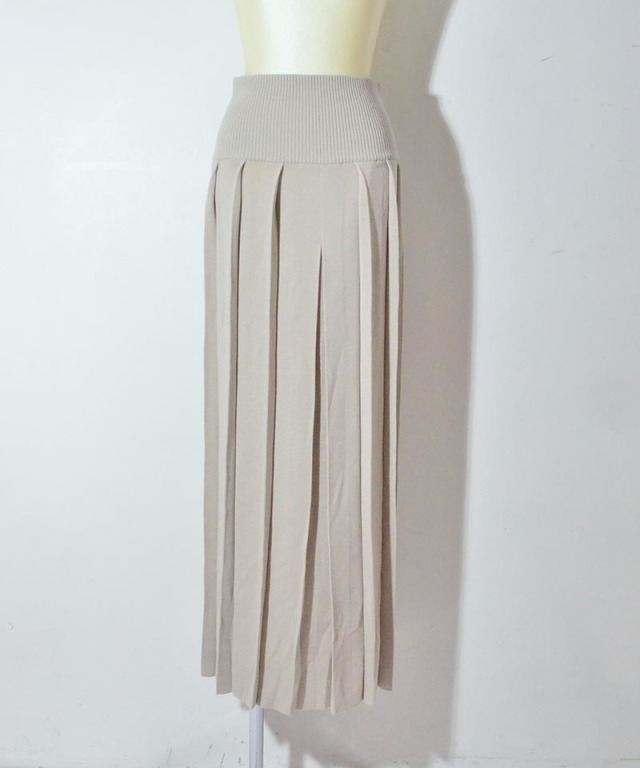 TAN BOILDE WARP PLEATS SK gray