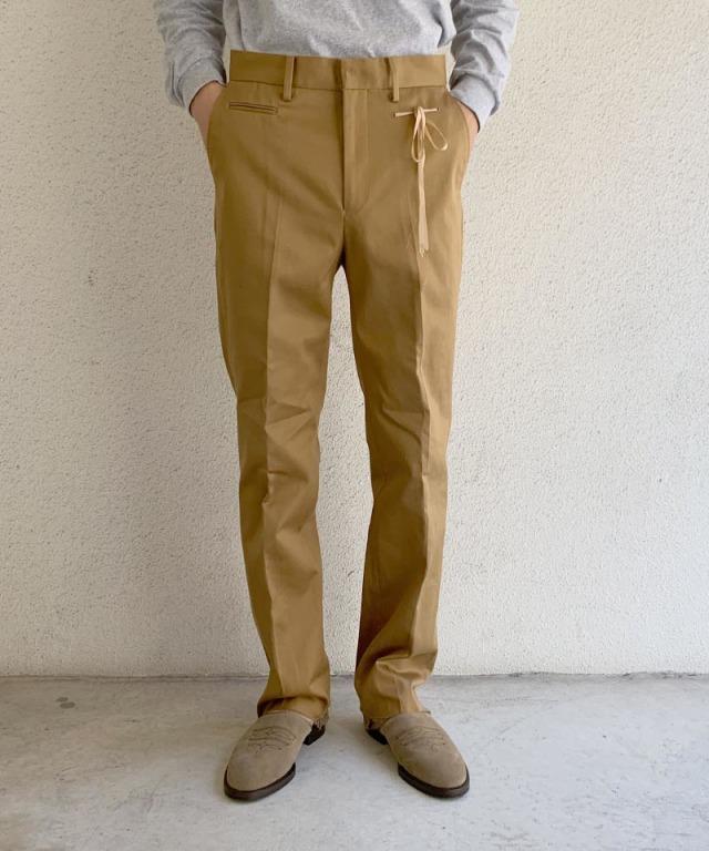 Midorikawa slacks pants beige