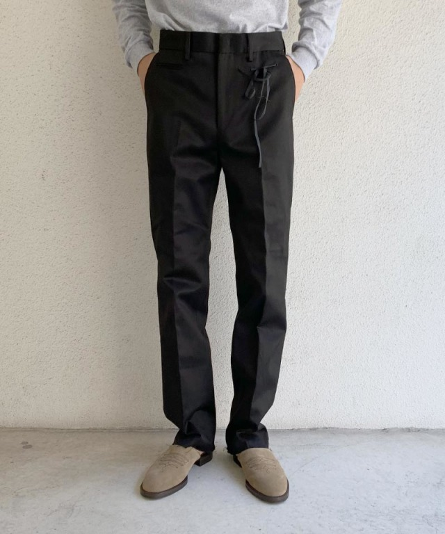 Midorikawa slacks pants black