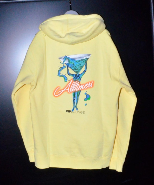 Alltimers Future Spill Hoody Yellow