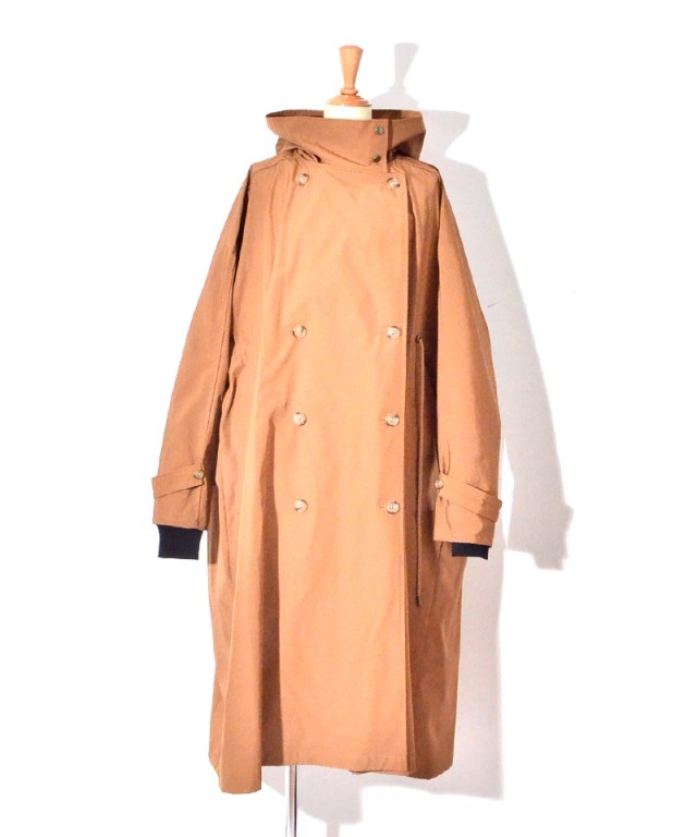 VACHEMENT INNERE DOWN TRENCH COAT Brown