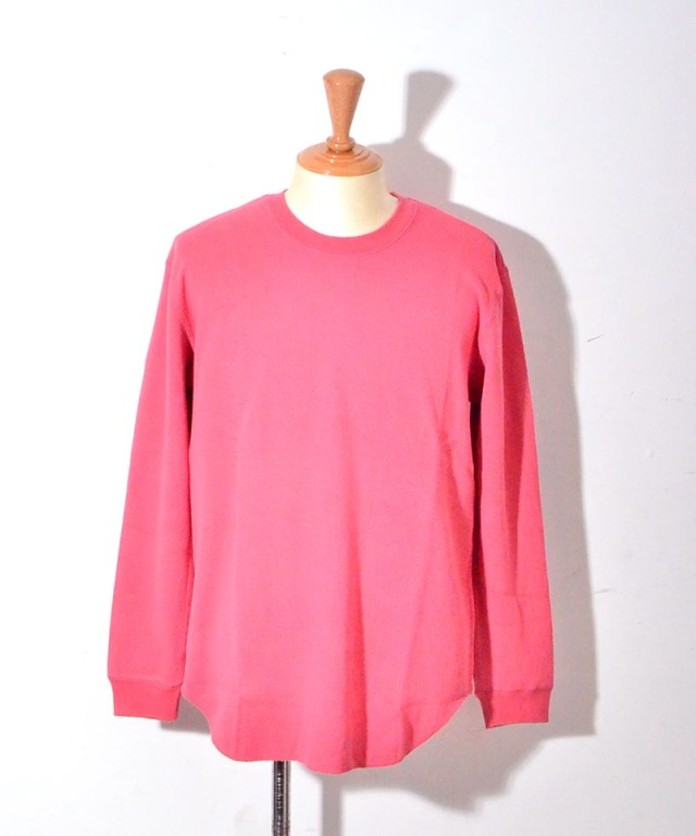 CURLY NOMADIC LS TEE FADE RED