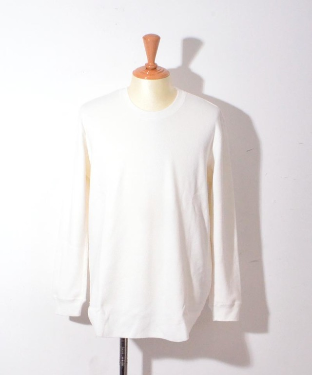 CURLY NOMADIC LS TEE WHITE