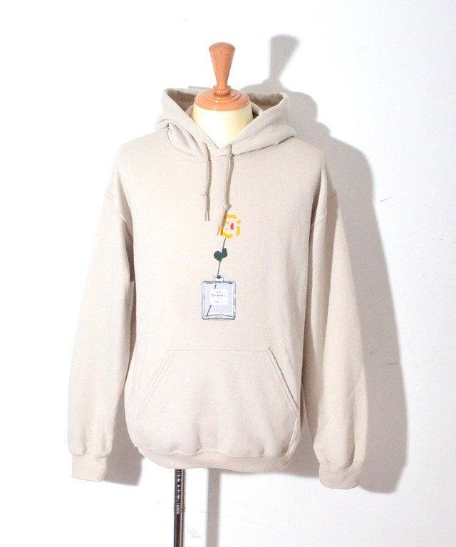 kurry exclusive HOODY BEIGE