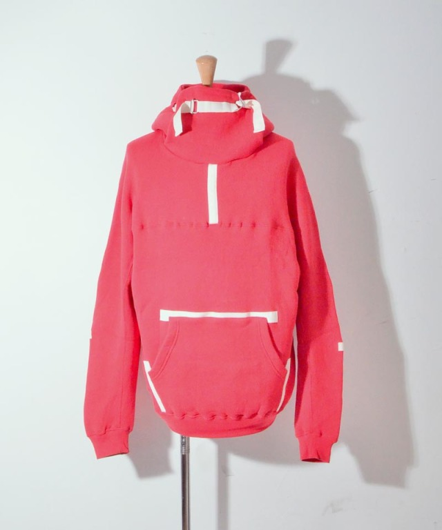 PHINGERIN PULLFACE PARKA A:RED