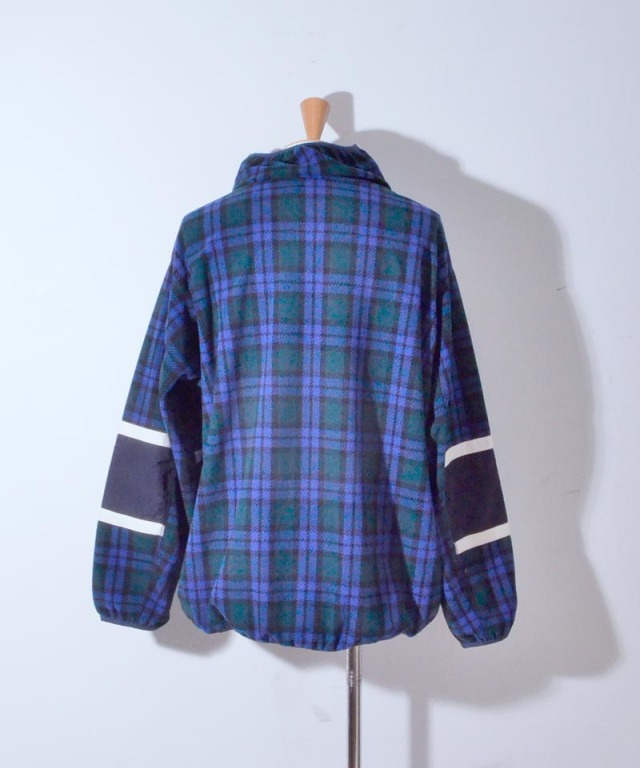 PHINGERIN COUGH FLEECE B:NAVY PLAID
