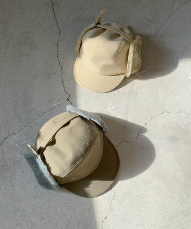 CURLY PRESTON FLIGHT CAP BEIGE