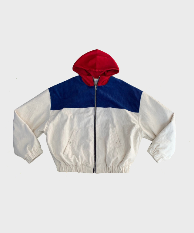 LANDLORD Youth Corduroy Jacket Red
