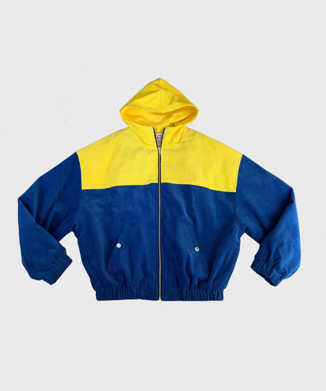 LANDLORD Youth Corduroy Jacket Yellow