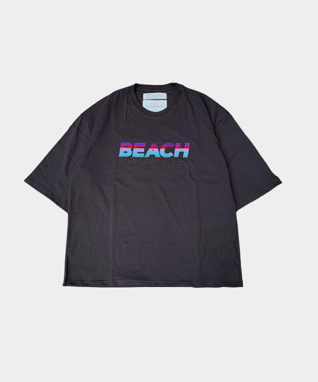 DAIRIKU BEACH H/S Tee BLK