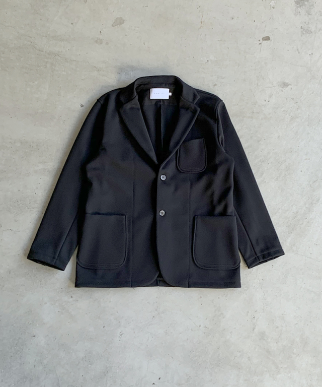 CURLY TRACK JACKET BLACK