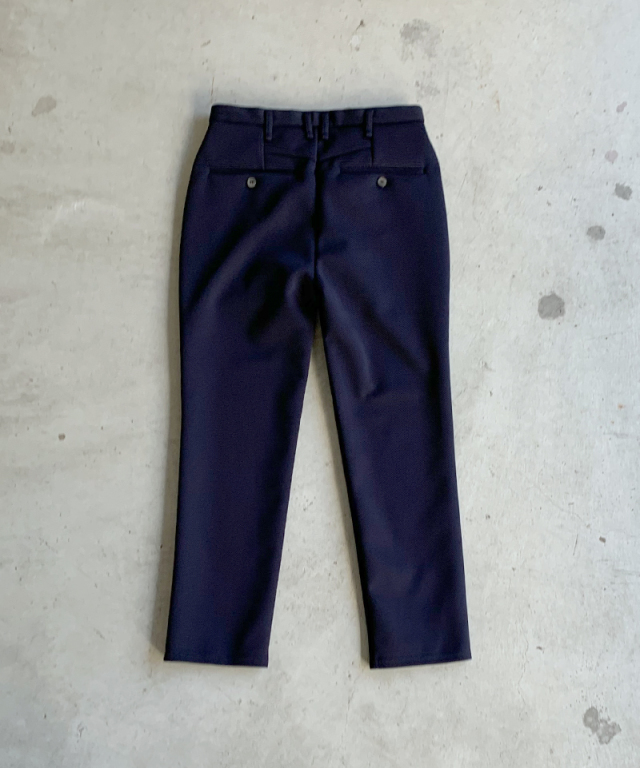 CURLY TRACK TROUSERS NAVY
