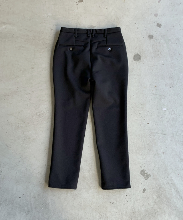 CURLY TRACK TROUSERS BLACK