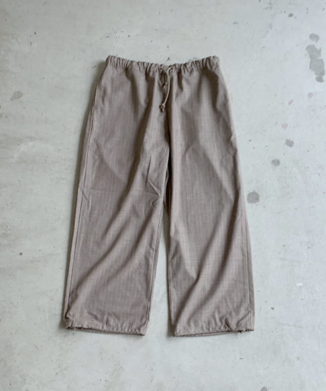 POLYPLOID OVER PANTS B BEIGE