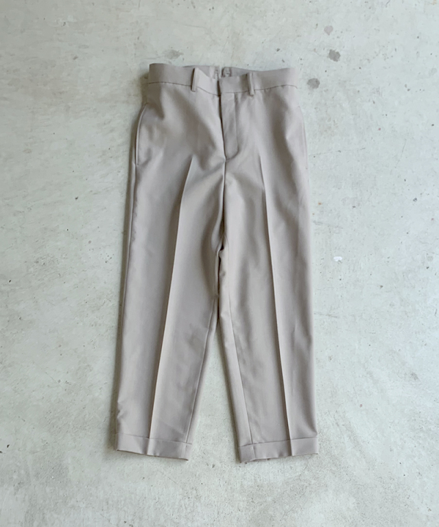 beautiful people mat worsted chambray work pants sand beige