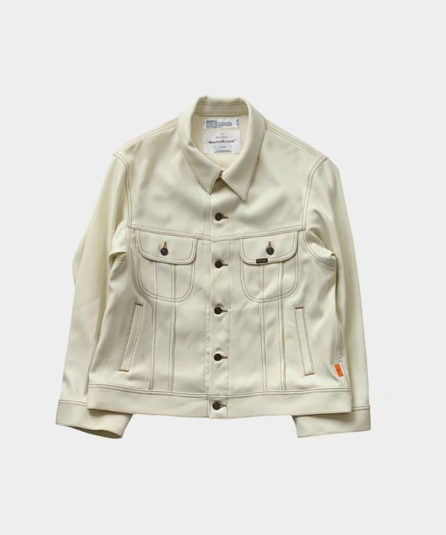 DAIRIKU REGULAR Polyester Jacket WHITE
