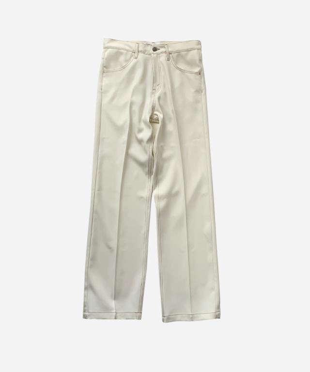 DAIRIKU Flasher Pressed Pants WHITE