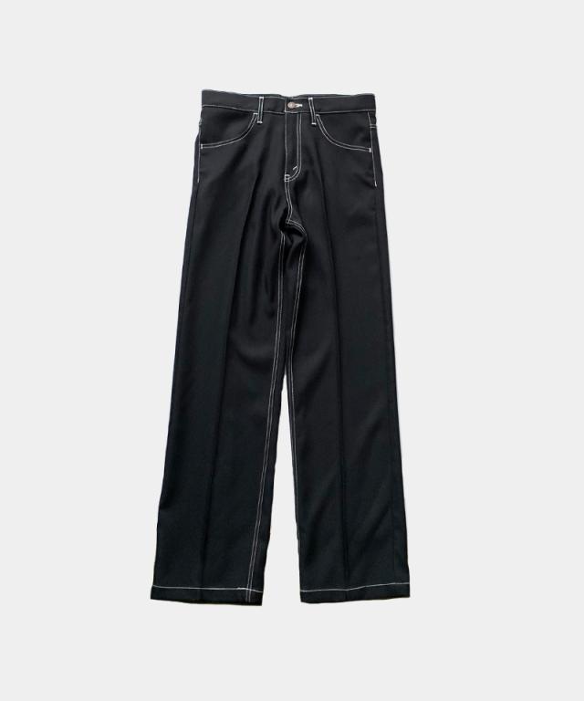 DAIRIKU Flasher Pressed Pants BLACK