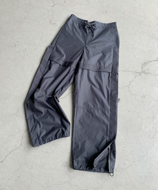 3.1 Phillip Lim Chintz Poplin Wide Leg Jogger black