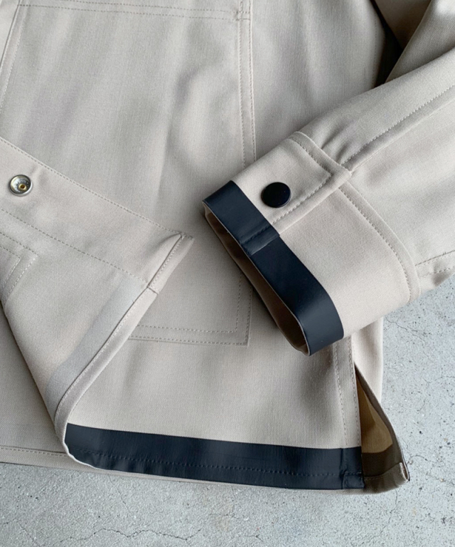 3.1 Phillip Lim Wool Workman Jacket beige