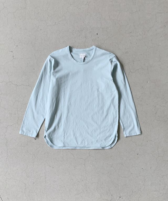 CURLY SDH LS CN TEE LT.BLUE