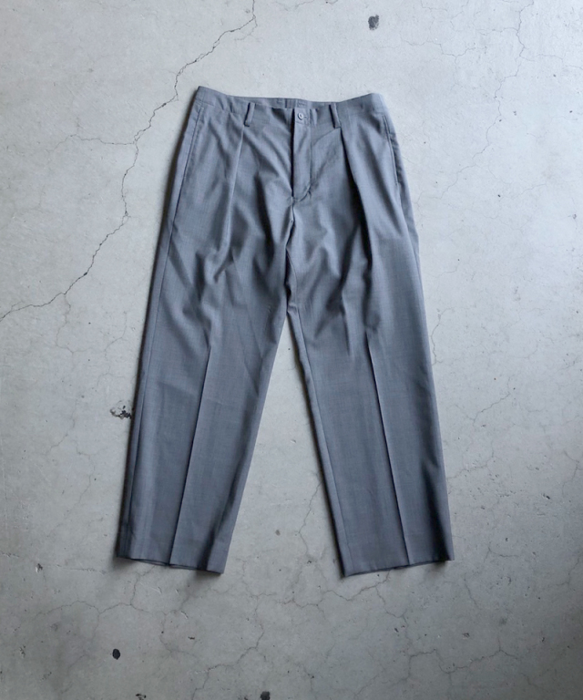 POLYPLOID TACK SUIT PANTS C GRAY