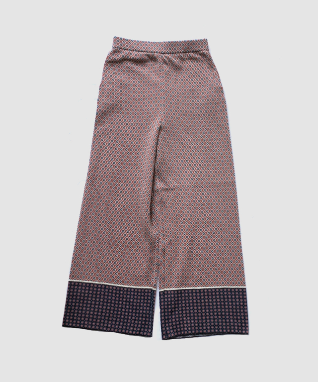 TAN KOMON JQ PANTS DARK ORANGE