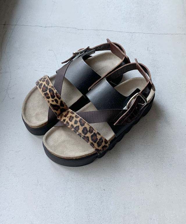 Hender Scheme tortoise leopard multi