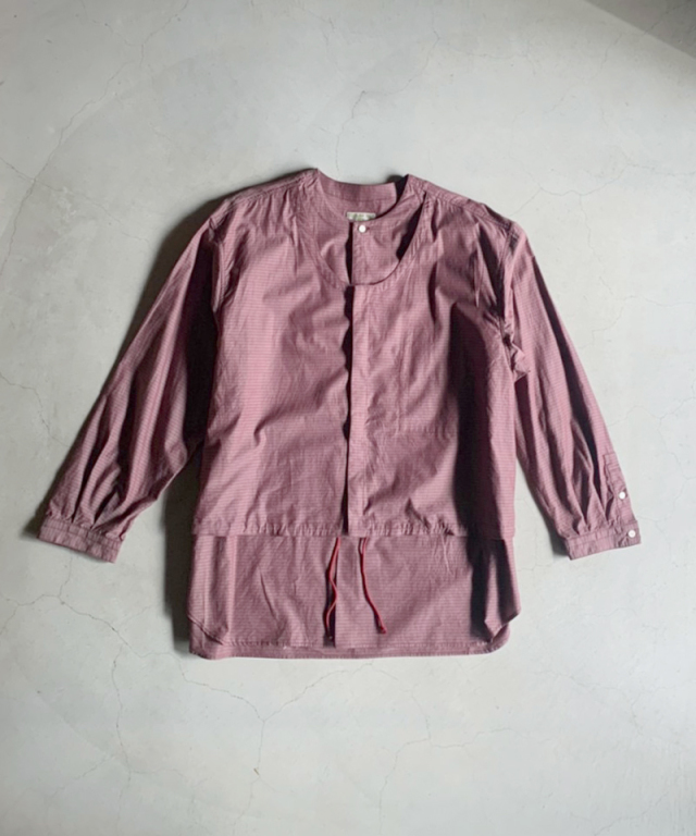 HOMELESS TAILOR LAYERED P/O MAROON