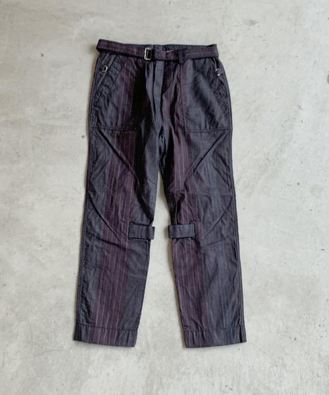 PHINGERIN BONTAGE PANTS B:NAVY