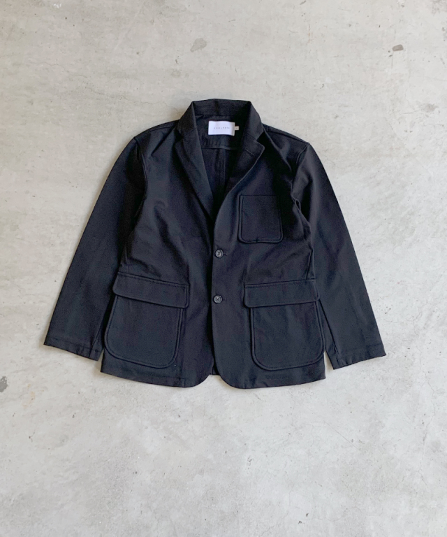 CURLY BREECKER JACKET BLACK