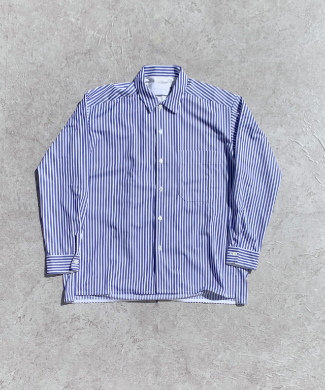 CURLY CLOUDY LS SHIRTS BLUE