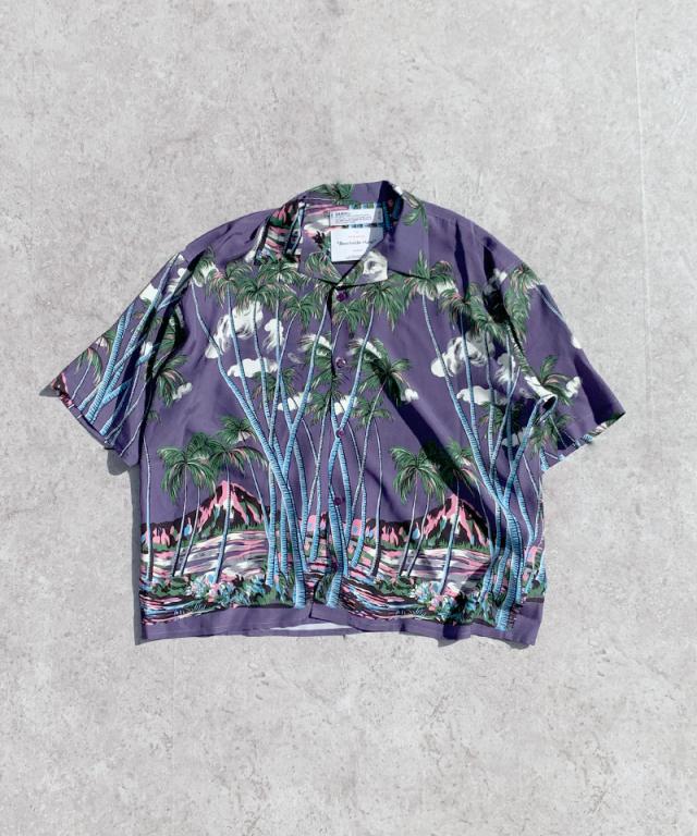 DAIRIKU INTERMISSINAloha Shirt Night Purple