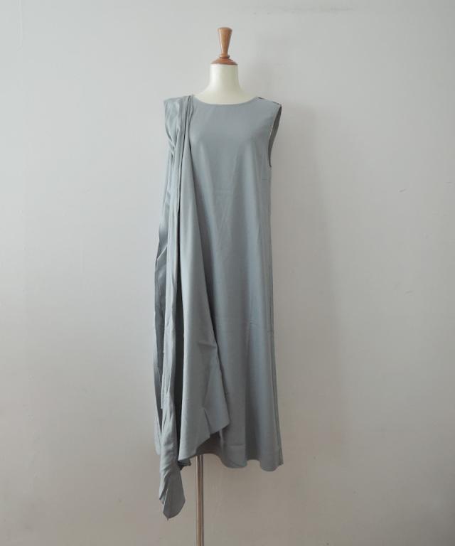BASERANGE DAHL DRESS BUJA BLUE