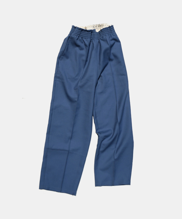 CAMIEL FORTGENS CHU CHU PANTS BLUE