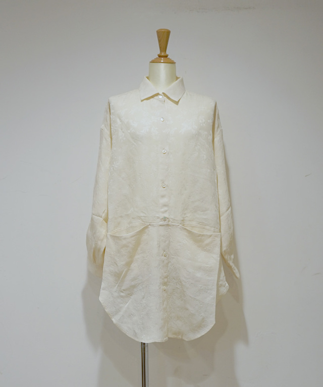 ERiKO KATORi big poket back open shirts ivo