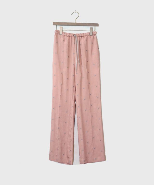 mame Pedicel Jacquard Pants PINK
